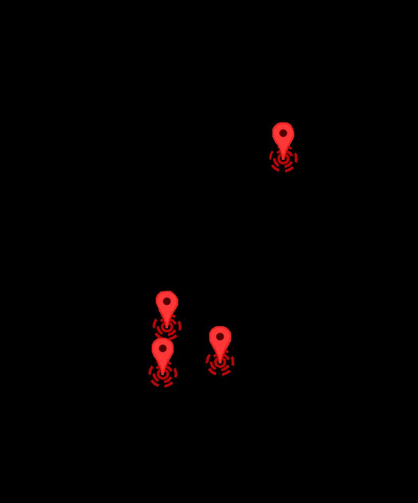SALBES Regions map